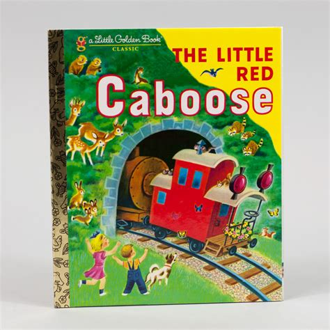 Little Golden Book The Little Red Caboose At Buyolympia Com