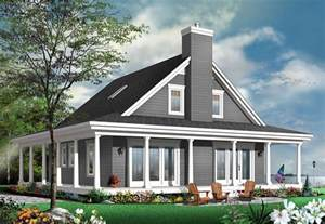 Country Cottage House Plans With Porches Unique Country Cottage House Plan With Wraparound Porch