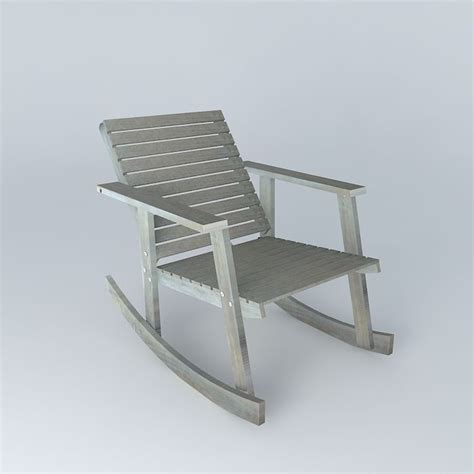 Rocking chair alabama 3d model max obj 3ds fbx stl skp cgtrader com