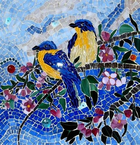 mosaic pattern birds 153 best images about staircase mosaic project on