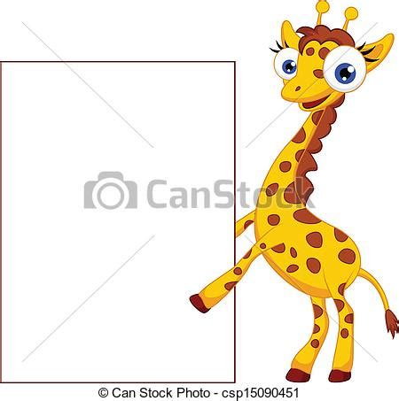 imagenes de jirafas caricaturas clipart vectorial de blanco jirafa caricatura se 241 al