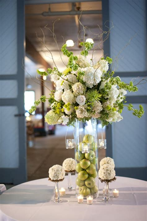 111 Best Images About Flowers Apples On Pinterest White Vase Centerpiece