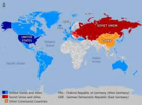 Cold War World Map by Cac Peace Day Nuclear Proliferation Since World War Two
