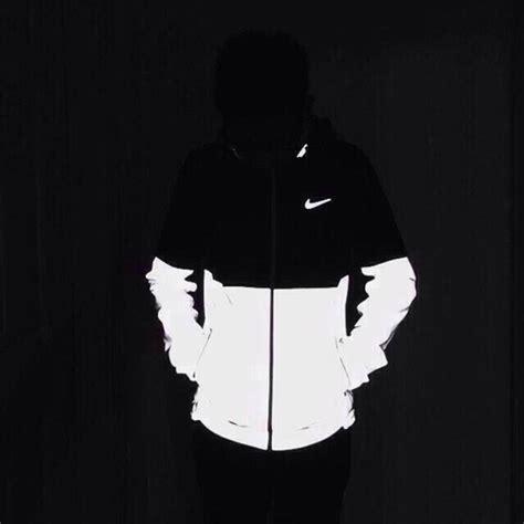 Target Kitchen Island White Jacket Nike Black White Reflective Flash Glow In The
