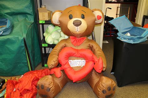 bear decorations for home heart bear decor carnivals for kids at heart