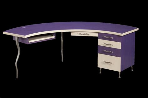Funky Desk L by Custom Demiluna Designer Desk Funky Modern Cool By