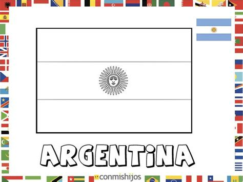 bandera de argentina para colorear para imprimir gratis bandera de argentina dibujos de banderas para pintar