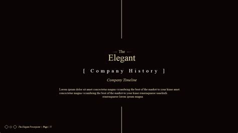 templates powerpoint elegant the elegant powerpoint presentations by idsains