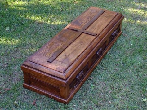 Handmade Caskets - buy a made built reclaimed wood celtic custom