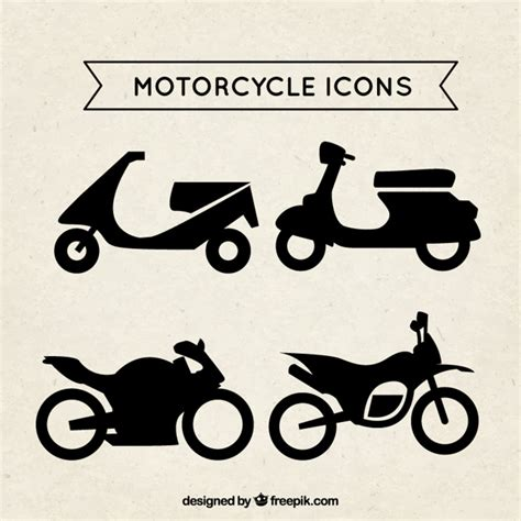 design honda icon motorcycle icons vector free download