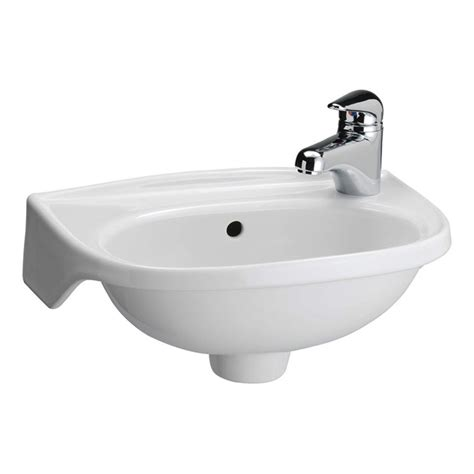 Small Wall Mount Sinks by Tina Wall Mounted Bathroom Sink In White 4 551wh The