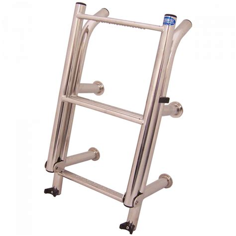 boat ladder whitworths stainless steel compact ladder 4 rung 259 95