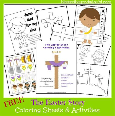 easter story coloring pages for preschoolers free thematic units new years g is for gingerbread and