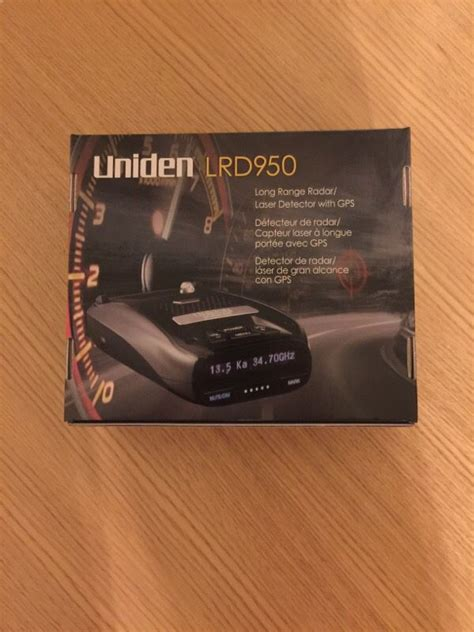 radar detector with light uniden lrd950 laser radar detector with gps and light