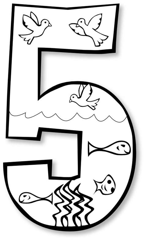creation coloring pages preschool creation day 5 church preschool creation pinterest