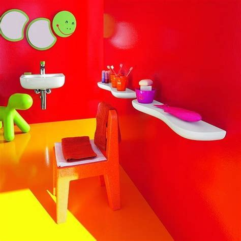 kids bathroom mirror colorful kids bathrooms designer furniture accessories