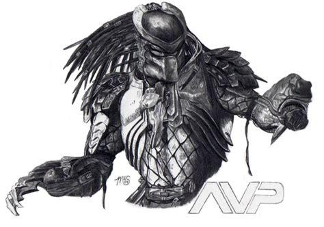 vs predator drawings predator by kamino185 on deviantart