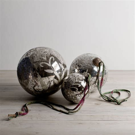 large silver baubles by love it want it buy it