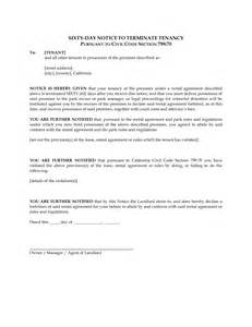 60 day lease termination notice template 10 best images of 60 day lease termination notice 60 day