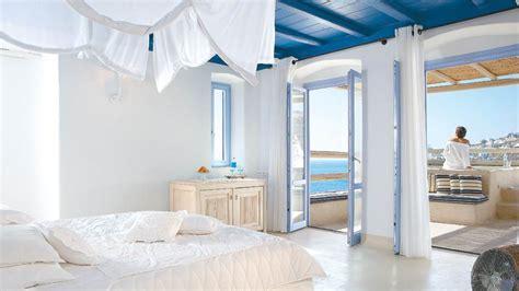 Kitchen Centre Islands Luxury Suites Villa Royal Blue At Mykonos Blu Hotel