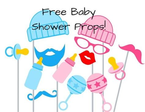 free printable gender reveal photo booth props free baby shower photo booth props baby shower