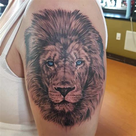 lioness eyes tattoo