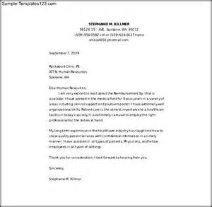 registered nursing cover letter word template free