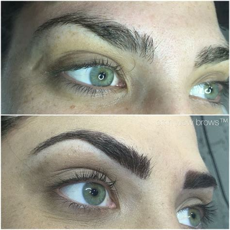 natural eyebrow tattoo 17 best images about cmh tayla made wow brows feather