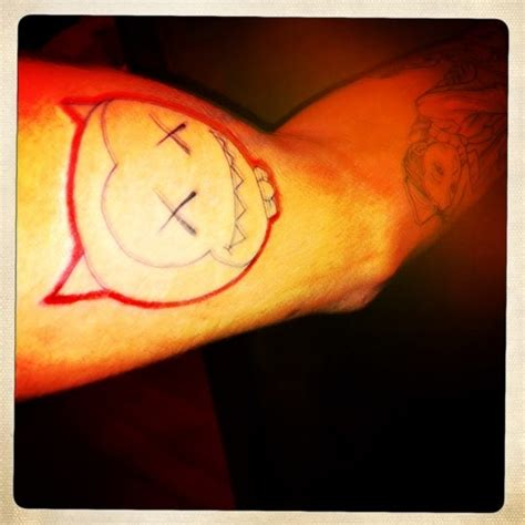 kaws tattoo where reality get confused chris brown s new