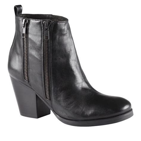 aldo fiera ankle boots in black lyst