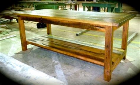 Farm Table Kitchen Island by Farmhouse Style Kitchen Table Island Antique Reclaimed