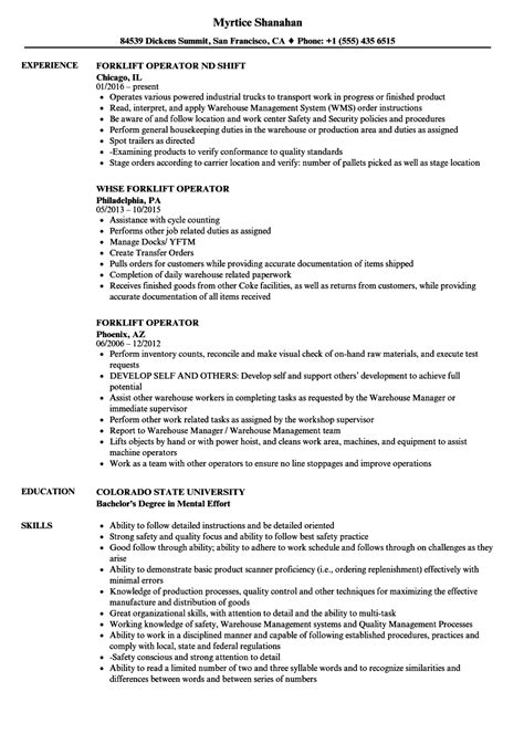 Front End Loader Operator Sle Resume front end loader operator sle resume visual analysis essay exles