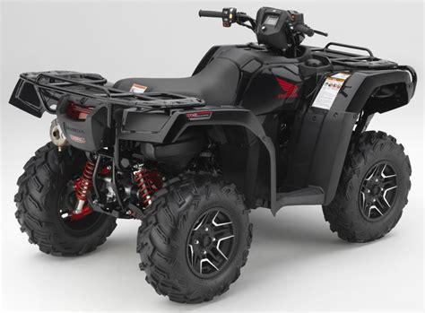 honda atv models honda s new 2017 atv lineup cyclevin
