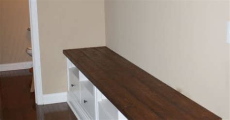 a charming nest mudroom bench ikea hack there s the charming nest mudroom bench diy from two ikea