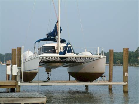 catamaran hull setup hi n dry photo gallery