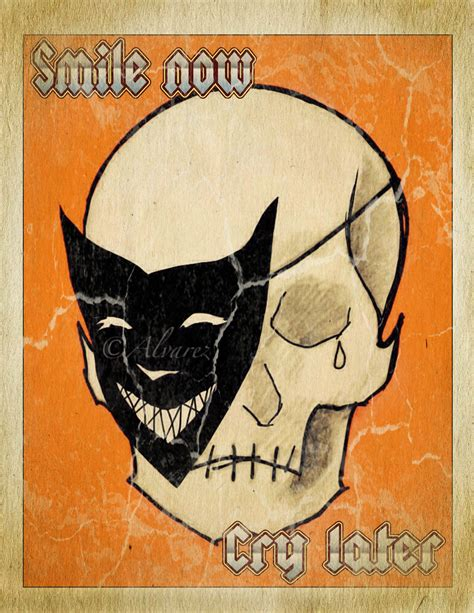 payaso tattoo designs smile now cry later mask skull tear drop