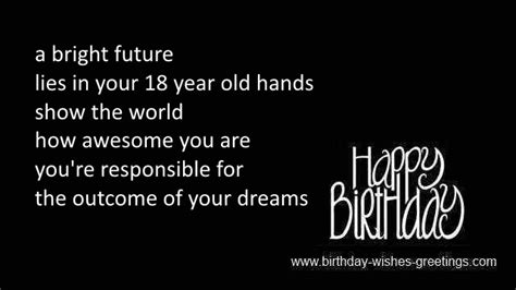 Happy 18 Birthday Wishes For Nephew 18th Birthday Greetings Best Friend 18 Year Old Bday Wishes