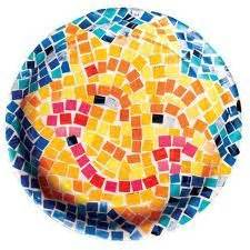 Paper Mosaic Crafts - 82 best images about preschool summer and sun on