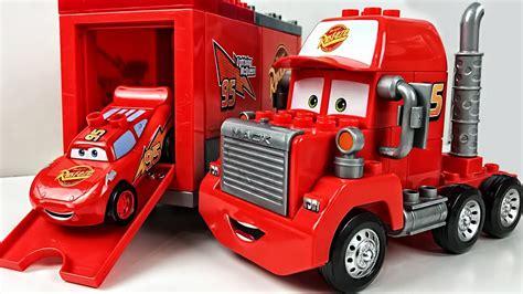 car 3 mack truck сonstructor play car for играем в тачки