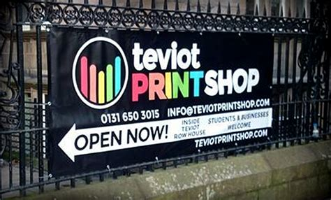 werkstatt banner teviot print shop