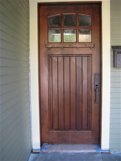 How To Stain Front Door Homeofficedecoration How To Stain A Fiberglass Exterior Door