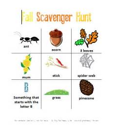 Fall Garden In Louisiana - how to have a backyard scavenger hunt with free printable my big fat happy life