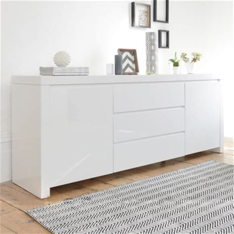 Dining Room Furniture Ikea Uk by Newton Storage Sideboard White Dwell