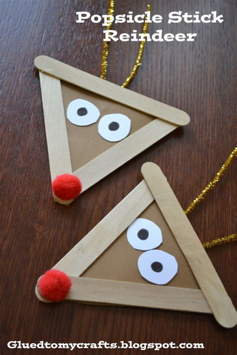 these popsicle stick crafts for 2015 christmas that will
