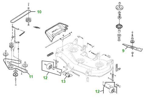Deere 48c Mower Deck Parts Diagram