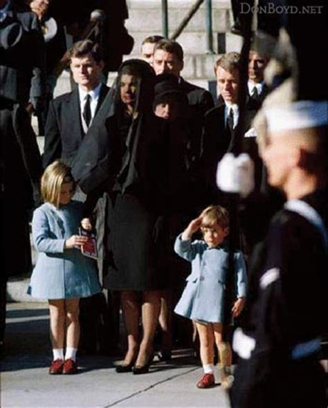 jfk s son jfk s funeral with his son john jr saluting his coffin