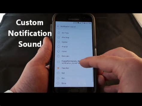 custom notification sound android descargar custom notification sound samsung galaxy how