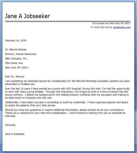 cover letter for a new career cover letter nursing career change creative resume