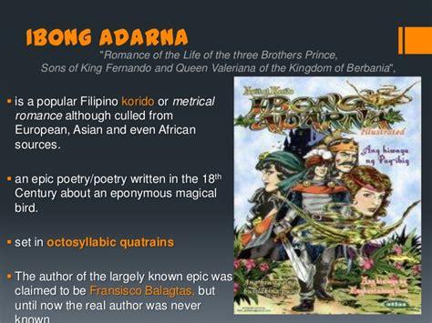 Ibong Adarna Book Report by Ibong Adarna Book Report