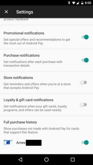 Can American Express Gift Cards Be Traced - android pay testing showing you transactions not paid by your phone